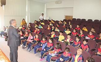 Karakol ilkokulu'ndan Arter'e ziyaret
