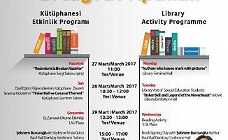 LAÜ'de Kütüphaneler haftası...
