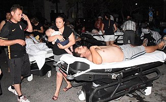 Ege'de 6,3'lük korkutan deprem