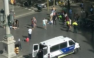 Barcelona'da terör  dehşeti 13 ölü!