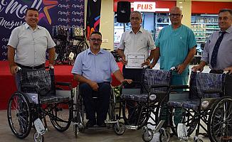 Tekerlekli sandalye bağışı