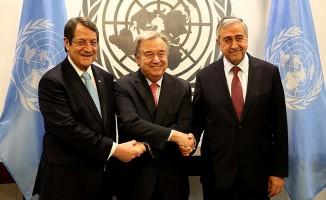 Anlaşma zeminini Guterres çerçevesi oluşturacak