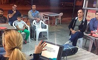 Eğitim çalışmaları Aydınköy'de devam etti