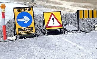 Okullar yolu ile Sivil Savunma arasındaki yol trafiğe kapanacak