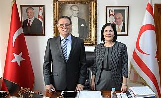 Siber, İstanbul Başkonsolosluğu'nu ziyaret etti