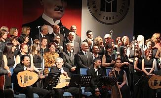 Türk Sanat Müziği Topluluğu Ankara'da konser verdi