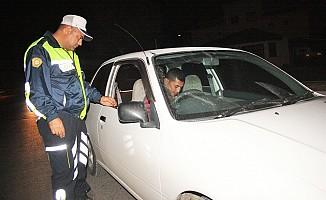 Gazimağusa'da asayiş ve trafik operasyonu