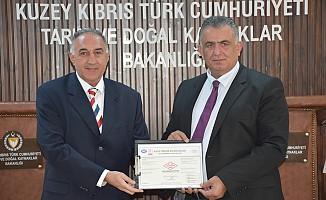 Tarım Bakanlığı'na ISO 9001 ve ISO 10002 sertifikası verildi