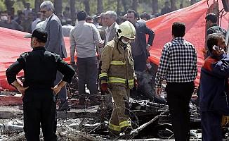 İran uçağı düştü!