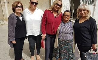 DP Kadın Örgütü'nden yaşlılara ziyaret