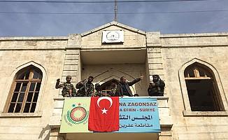 """Erdoğan: """"Afrin şehir merkezi kontrol altına alınmıştır"""""""