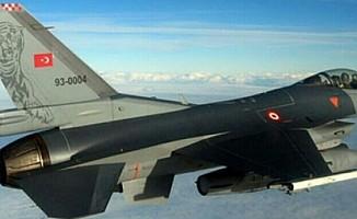 Nevşehir'de F-16 savaş uçağı düştü
