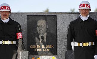 Osman Örek, vefatının 19'uncu yıldönümünde anıldı
