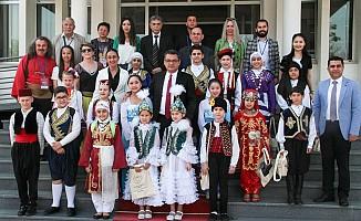 23 Nisan Çocukları Başbakanlıktaydı…