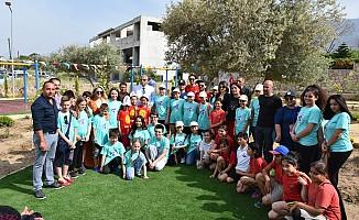 Girne'ye iki yeni çocuk parkı