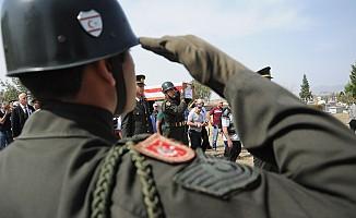 Kayıp Şehit Ahmet Derviş toprağa verildi