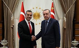 Uluçay, Erdoğan ile görüştü...