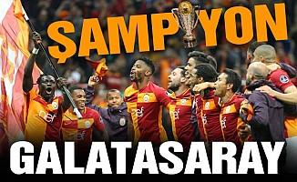 Ve şampiyon Galatasaray!...