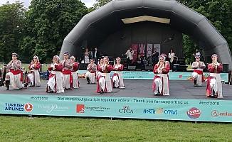 """Londra'da """"2. Kıbrıs Türk Kültür Festivali"""" yapıldı"""