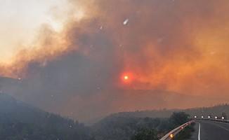 Pirgo köyünde yangın!