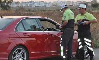 1 haftada 596 sürücü rapor edildi