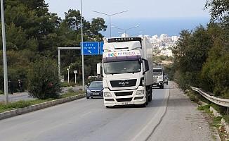 Ağır kamyonlar 07:00-08:00 arası trafiğe çıkmayacak