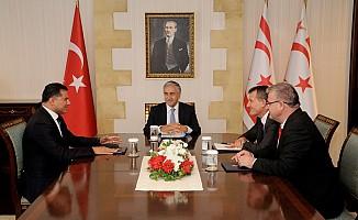 Akıncı'nın muhalefet parti liderleriyle görüşmesi tamamlandı