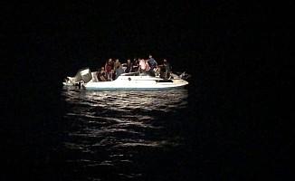 KKTC açıklarında yasa dışı göçmen teknesi bulundu
