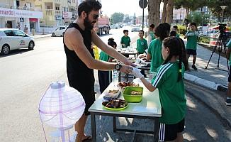 Şht Osman Ahmet İlkokulu öğrencilerinden kermes