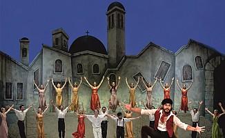Zorba Balesi yarın Girne Amfi Tiyatro'da...