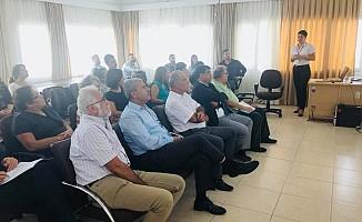Lefke'de imar planı toplantısı yapıldı
