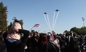 15 Kasım törenlerinde Solo Türk damgası...