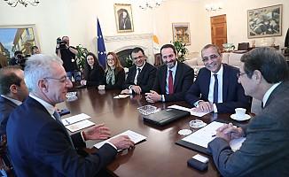 CTP Kıbrıs Çalışma Grubu, Anastasiadis ile bir araya geldi.