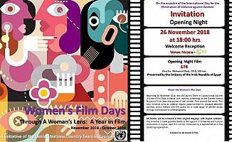 """""""Kadın Film Günleri"""" pazartesi başlıyor"""