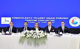 Türkiye - KKTC Ticaret Odası formu yapılıyor