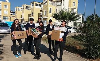 BEAL öğrencilerinden paylaşım Mutfağı'na bağış