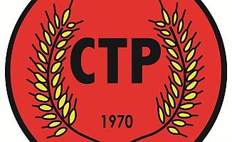 CTP kuruluş resepsiyonunu iptal etti...