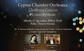Kıbrıs Oda Orkestrası 17 Aralık'ta...