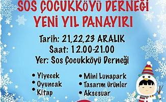 """SOS Çocukköyü, """"Yeni Yıl Panayırı"""" düzenliyor"""
