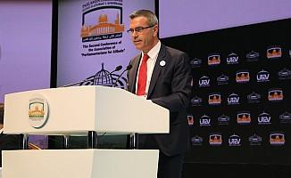 Uluçay, Parlamentolararası Kudüs Platformu konferansına katıldı