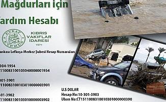 Vakıflar İdaresi, sel mağdurlarına maddi yardım çağrı yaptı