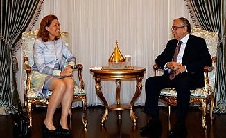 Akıncı, Hollanda Büyükelçisi Jaarsma'yı kabul etti
