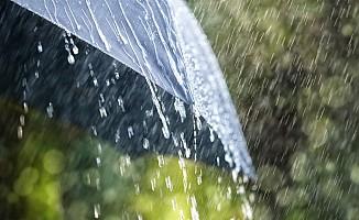 En fazla yağış Taşpınar'a kaydedildi...
