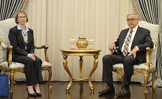 Akıncı, ABD Elçisi Judith Gail Garber'i kabul etti
