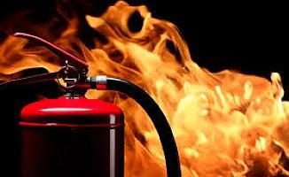 Girne ve Lapta'da yangın...