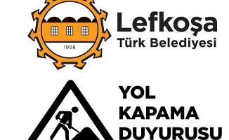 Marmara 33. sokak cumartesi trafiğe kapanacak