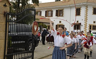 23 Nisan Çocuk Festivali Korteji Lefkoşa'da yapıldı