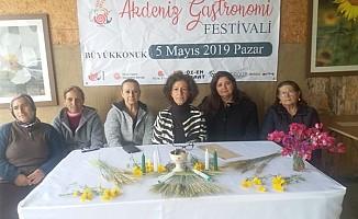 2.Uluslararası Akdeniz Gastronomi Festivali 5 Mayıs'ta