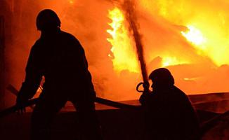 Lefkoşa sanayi bölgesinde yangın!