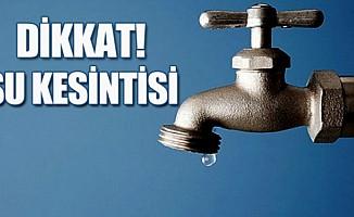 Ülke genelinde su kesintisi başladı